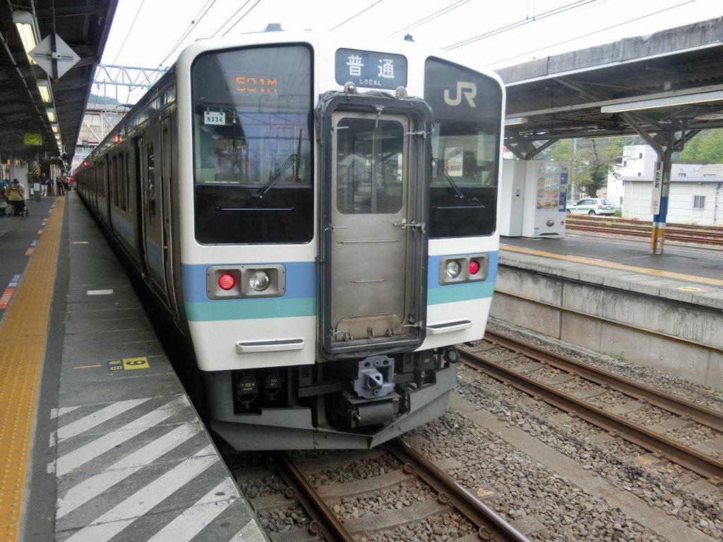 中央東線の普通列車