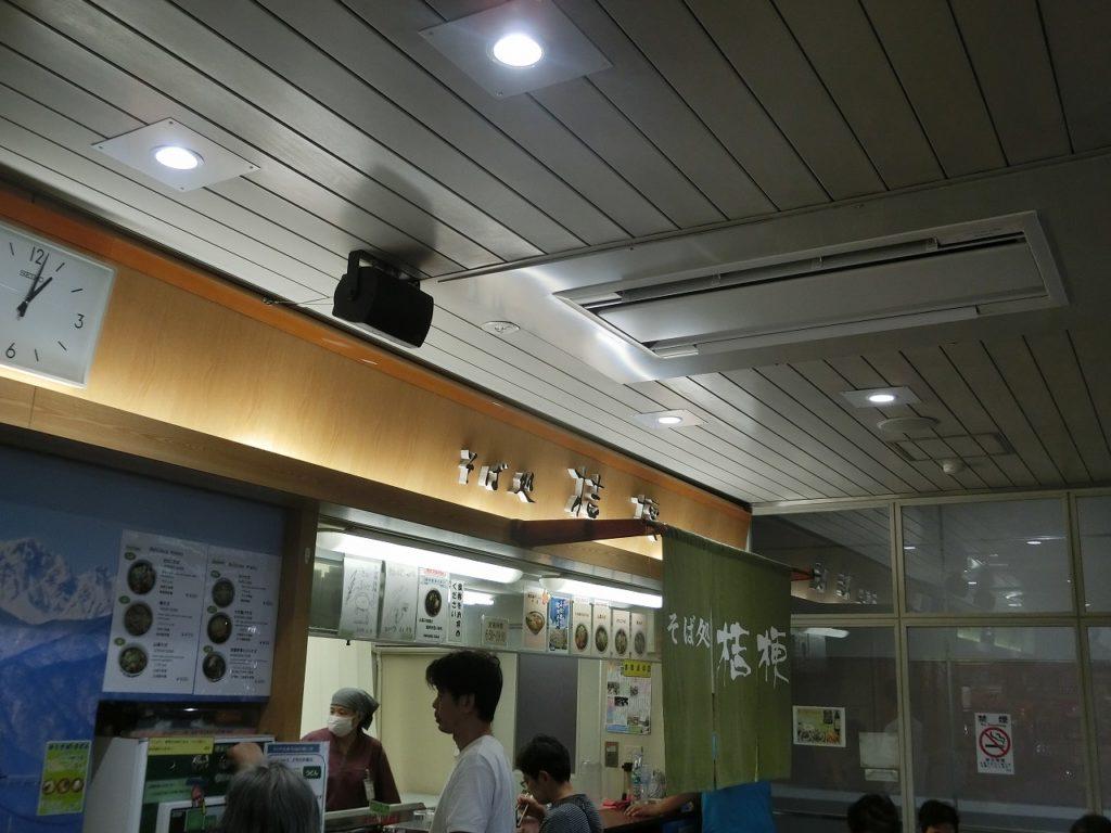 塩尻駅の駅そば