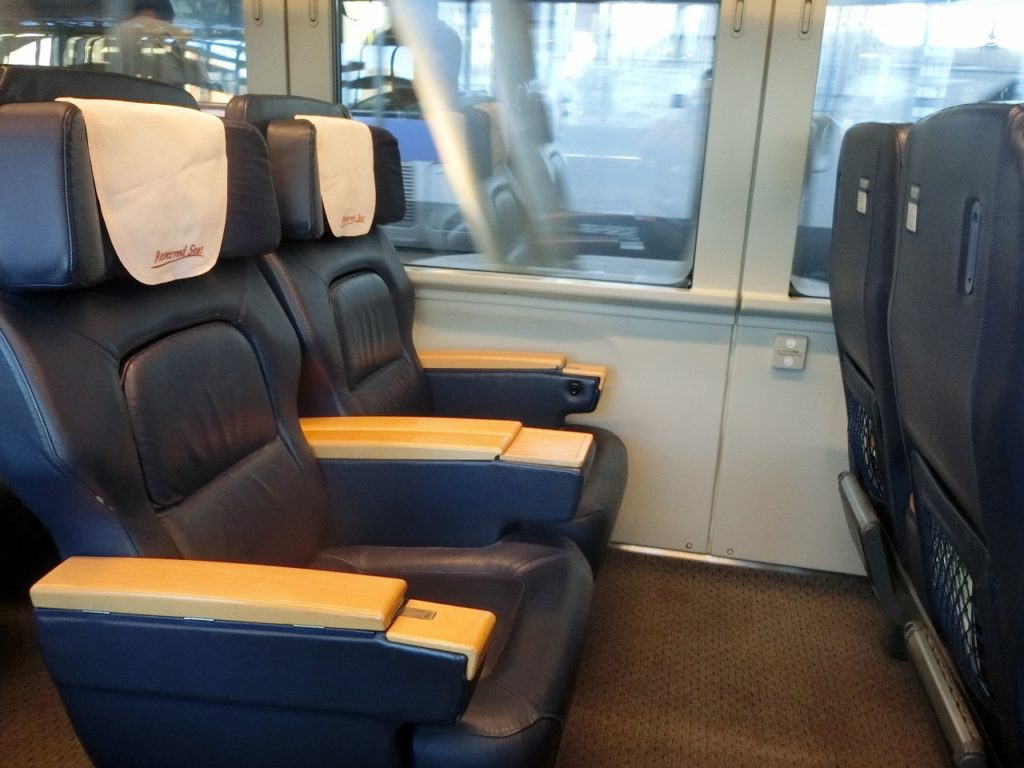 789系基本番台のグリーン車の座席