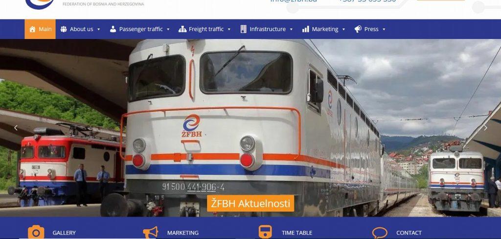 ボスニア・ヘルツェゴビナ鉄道のダイヤの調べ方