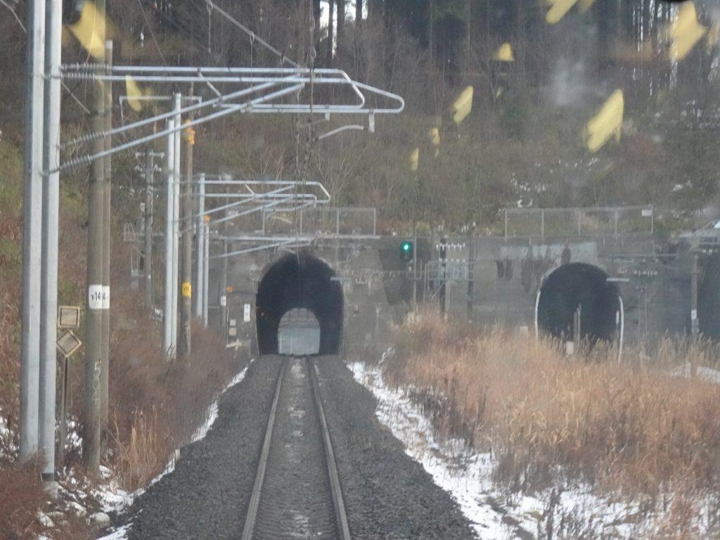 IGR銀河鉄道の奥中山越えのサミット