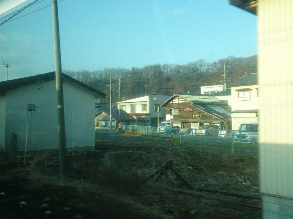青い森鉄道の八戸付近の車窓