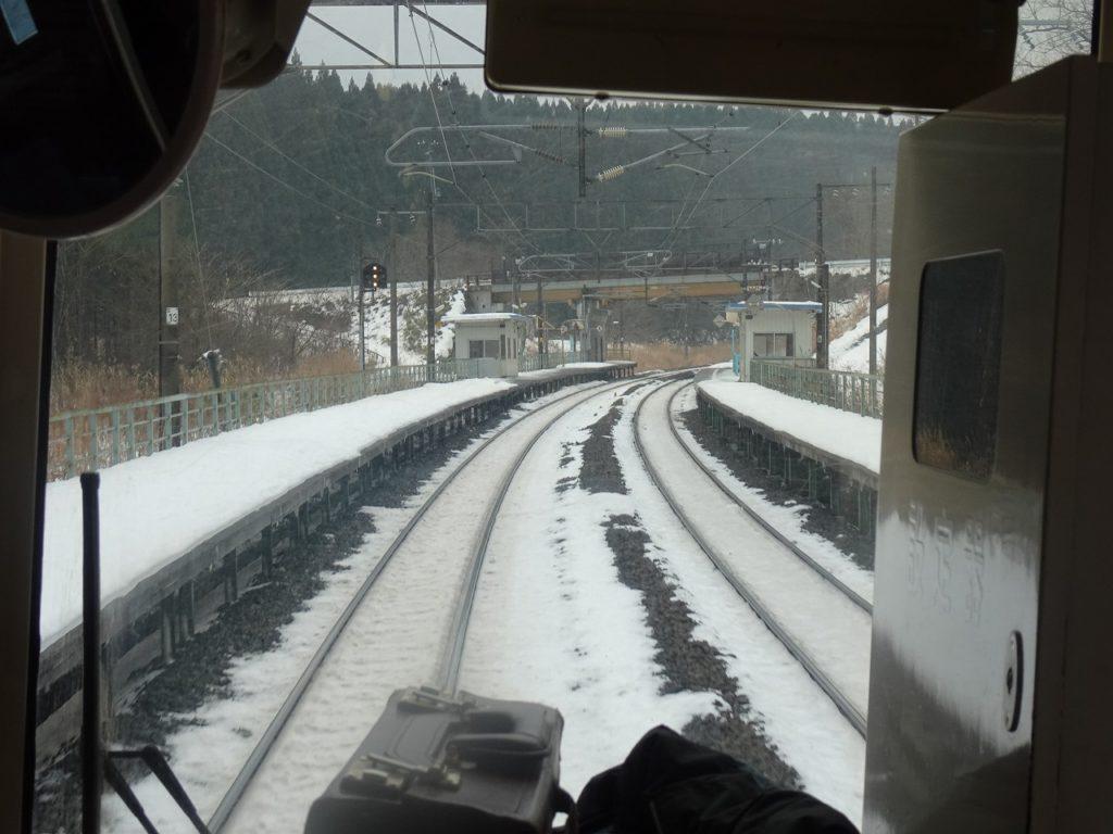 青い森鉄道の千曳駅