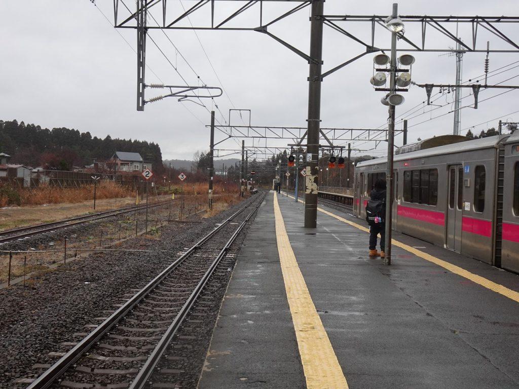 津軽線蟹田駅