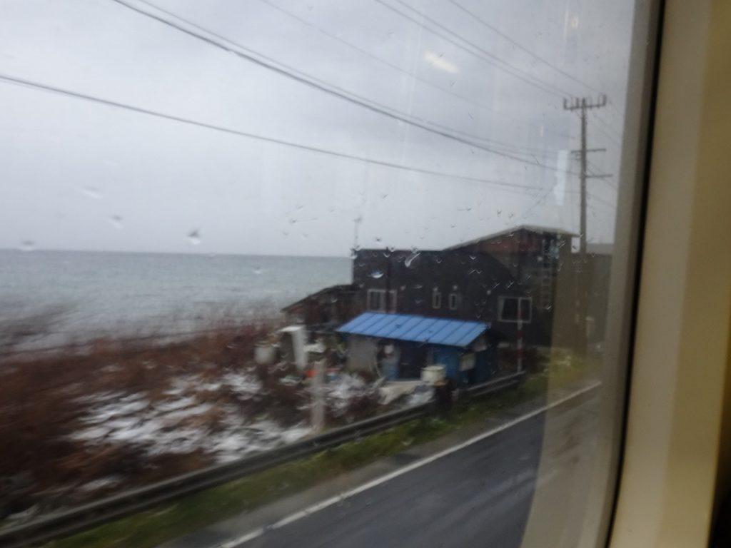 津軽線の車窓