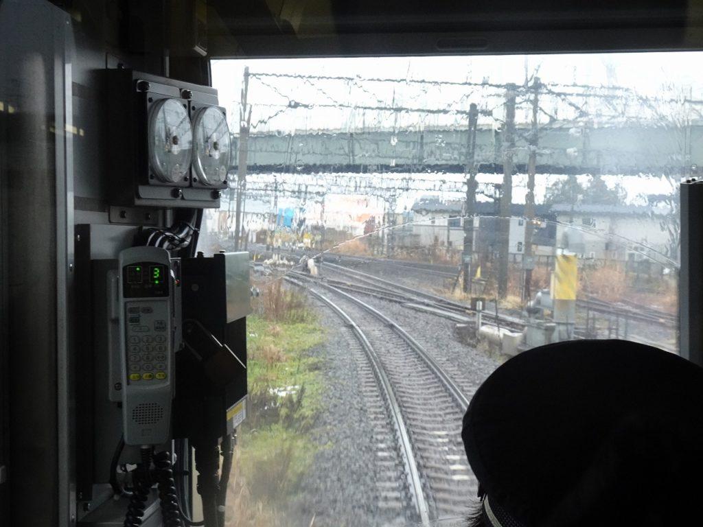津軽線と奥羽本線の合流