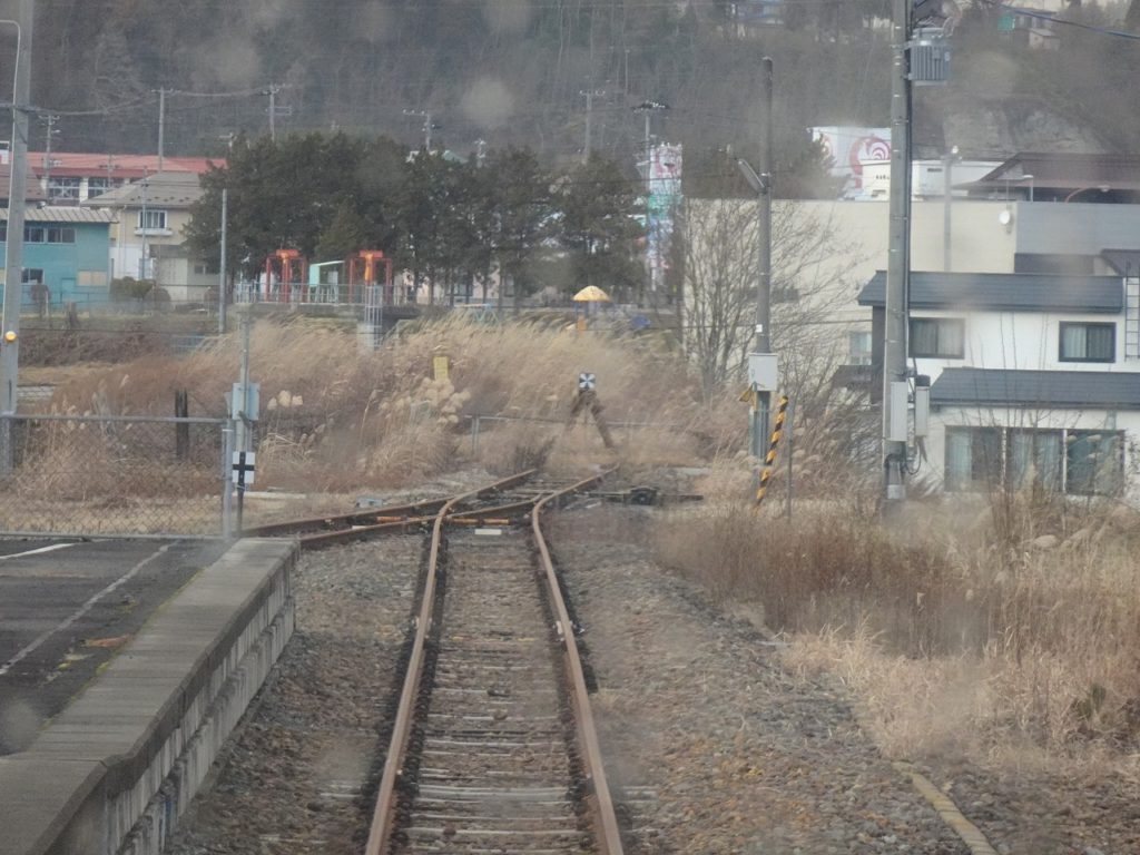 花輪線の十和田南駅