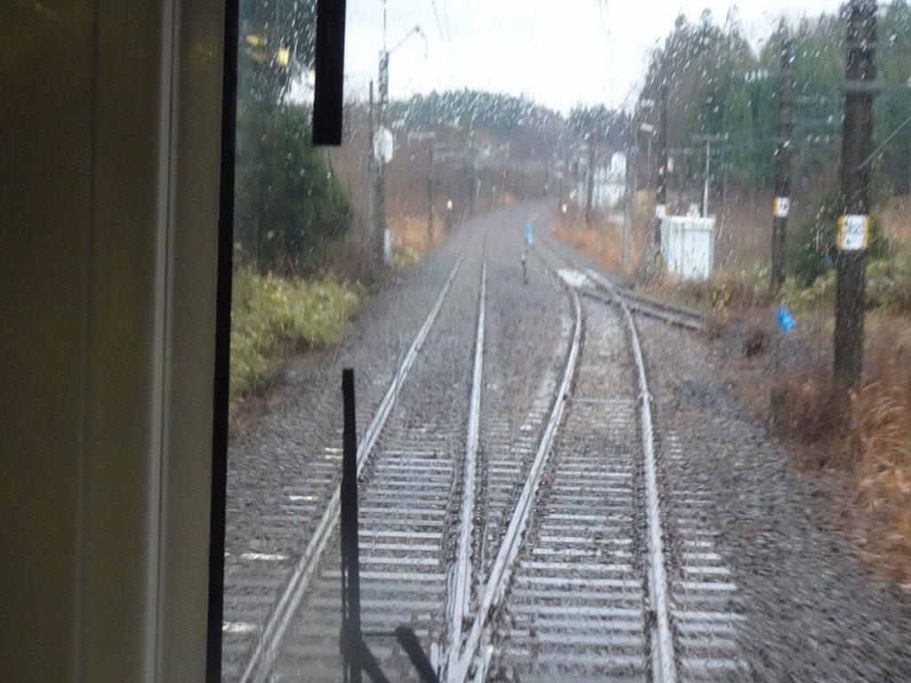 奥羽本線の南能代信号場