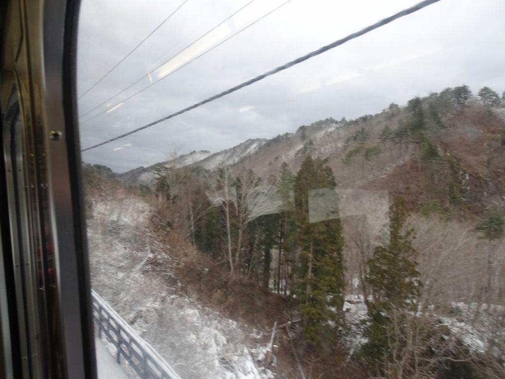奥羽本線の板谷峠越え
