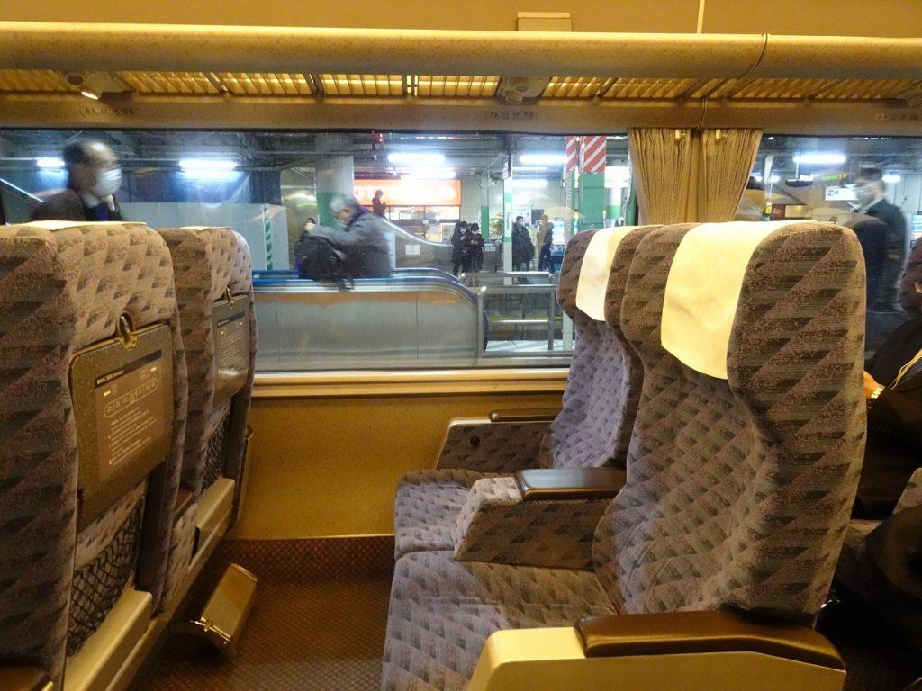 651系のグリーン車の座席