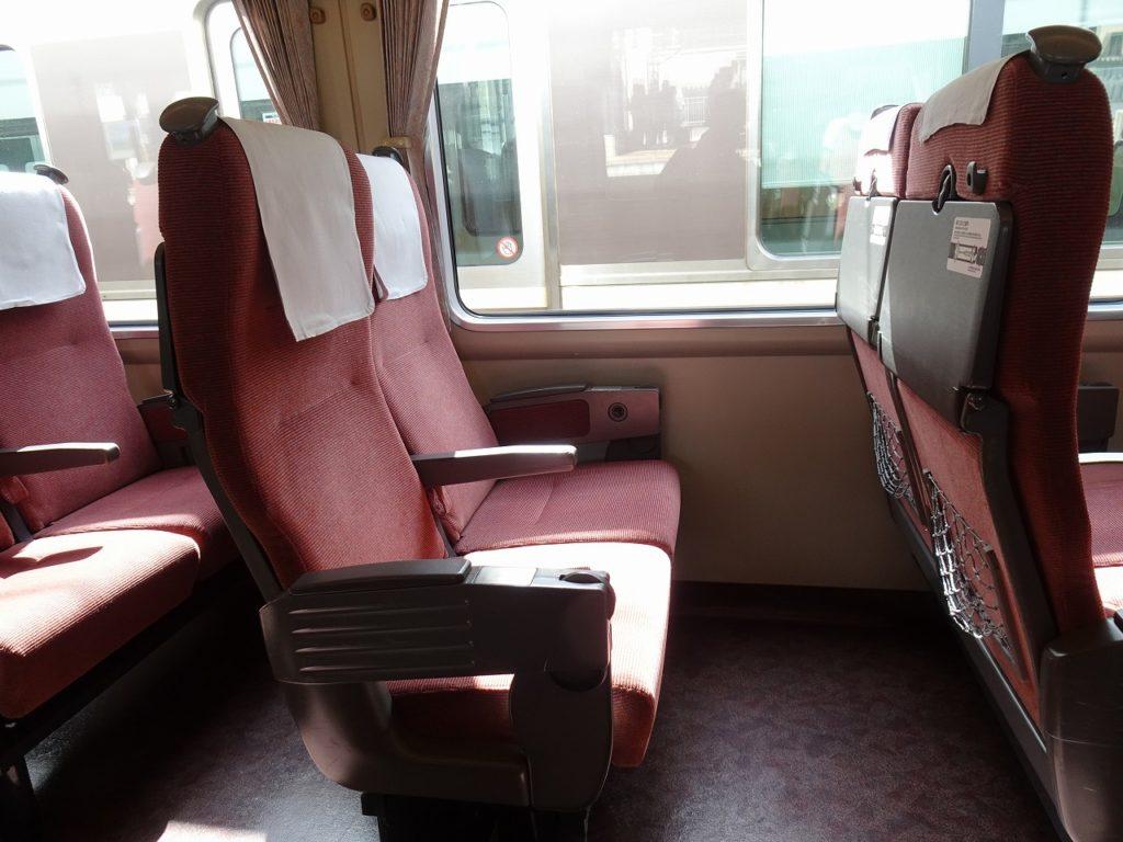 289系の普通車の座席