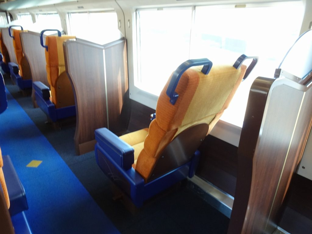 E653系のグリーン車の座席