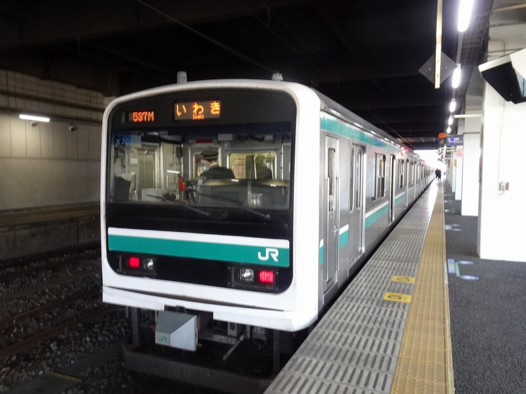 水戸~いわき間の普通列車、E501系