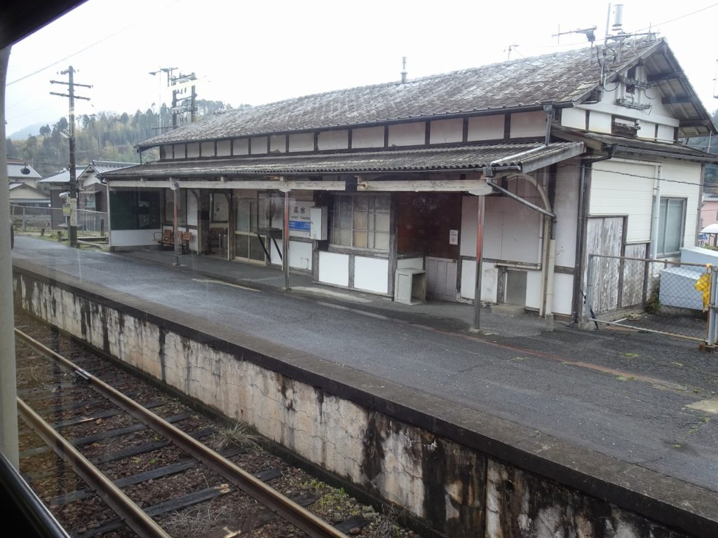 岩徳線高水駅