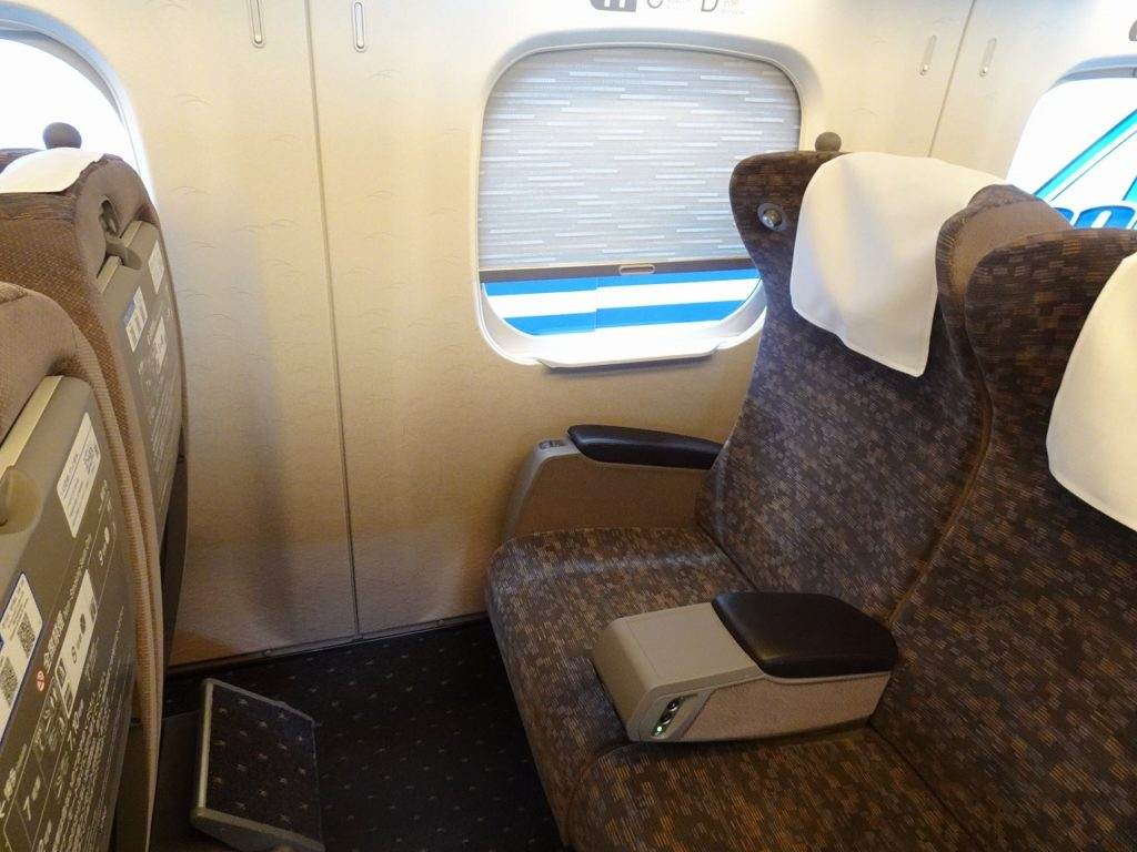 N700系グリーン車の座席