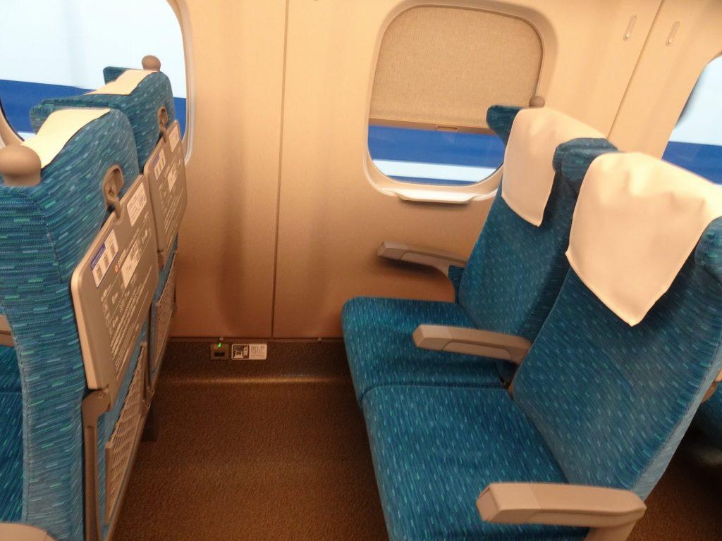 N700系の普通車の座席
