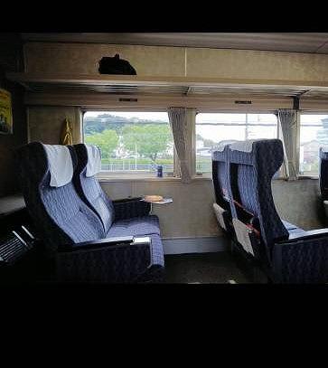 185系のグリーン車の座席