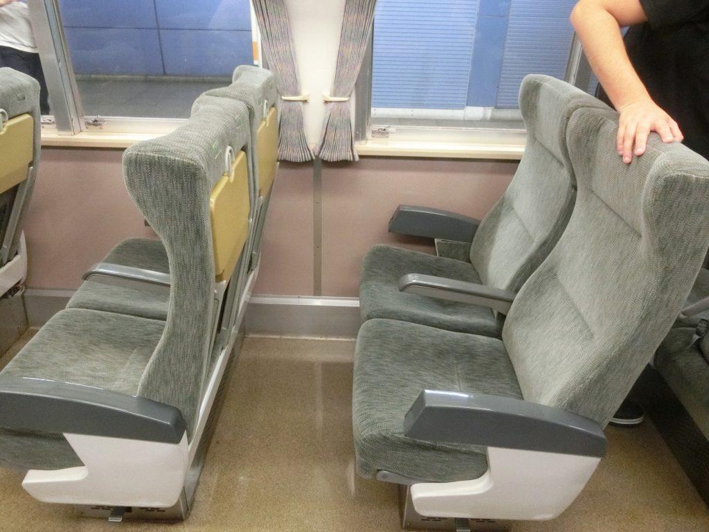 185系の普通車の座席