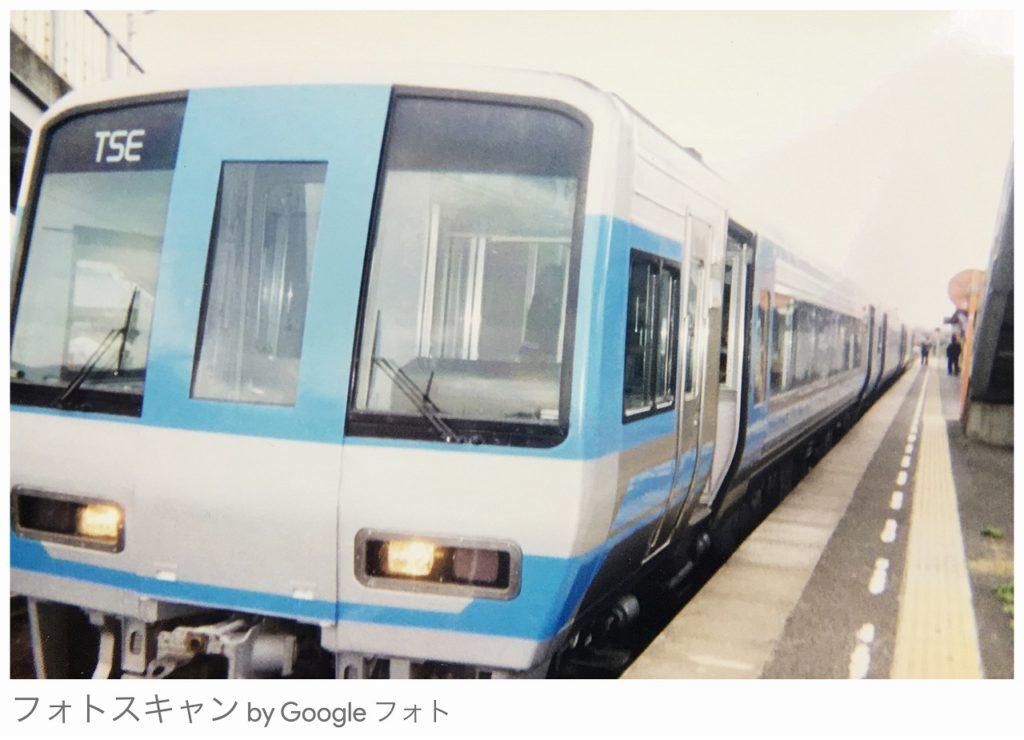 2000年代前半に撮影した、JR四国の2000系先行試作車両TSE