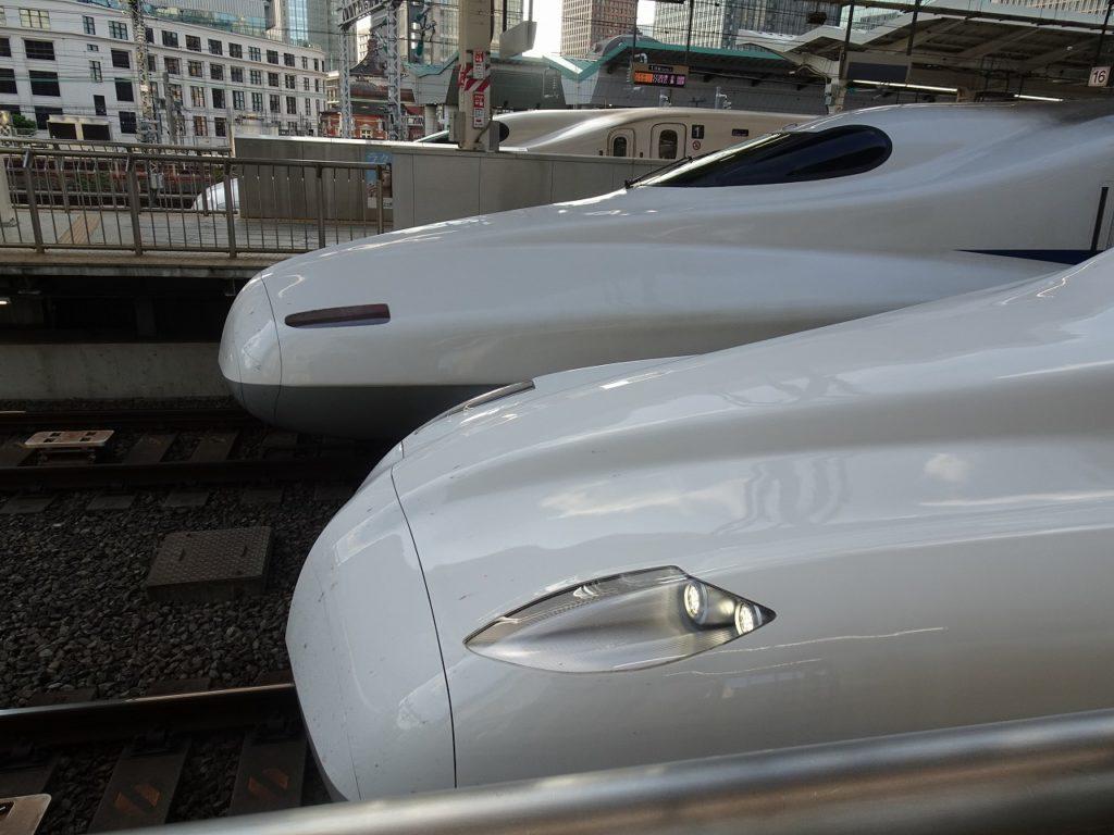N700AとN700Sの並び