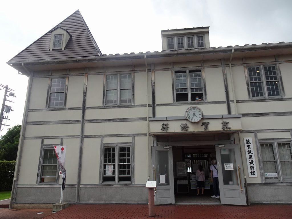 旧敦賀港駅舎をイメージした敦賀鉄道資料館