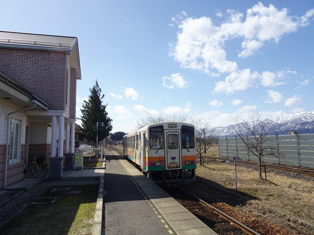 山形鉄道の荒砥駅